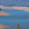 A view of Lake Oroville on Thursday. The State Water Project's largest reservoir, Lake Oroville is being kept low, at 78 percent of average capacity, even though the snowpack is 146 percent of average and water allocations have been raised to 35 percent. (Matt Bates -- Enterprise Record)