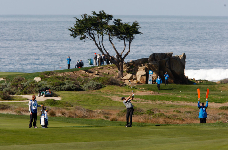 First Round AT&T Pebble Beach Pro-Am