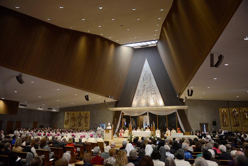 Bishop Daniel Garcia Installation