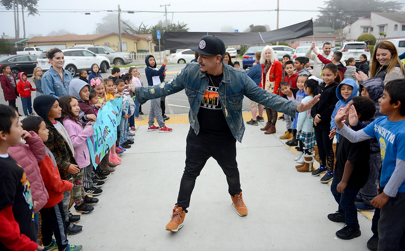 DJ IZ Avila at Marina Vista Elementary School