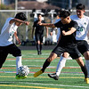Monterey High vs Pajaro Valley High, boys soccer