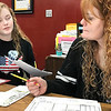 KEVIN HARVISON | Staff photo<br /> Pictured from left, Darby Eggleston, McAlester Boys and Girls Club Programs Director and Shari Bledsoe, McAlester Boys and Girls Club Director of Operations, go over some details for the upcoming 8U-14U OK Kids baseball season. Last day for draft and intact sign-ups will be March 1 with final rosters for intact teams turned in by March 8. A coaches meeting is scheduled for February 26 for draft teams at 6:30 p.m. and intact teams at 7 p.m. at the Boys and Girls Club office at Chadick Park. Fee for intact teams payed on or before Feb. 26 is $350 and after Feb. 26 will be $400. For more information call 918-426-5145.