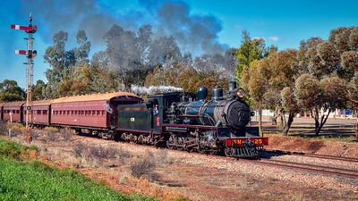 """Pichi Richi Heritage Locomotive and Railway."" 16:9 Crop. (Aurora HDR - Elena Petrova preset.)"