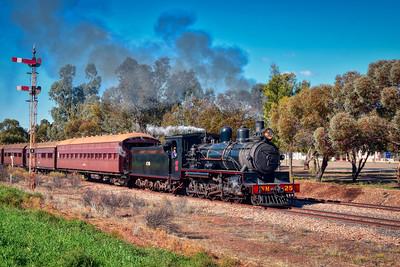 """Pichi Richi Heritage Locomotive and Railway."" (Aurora HDR - Elena Petrova preset.)"