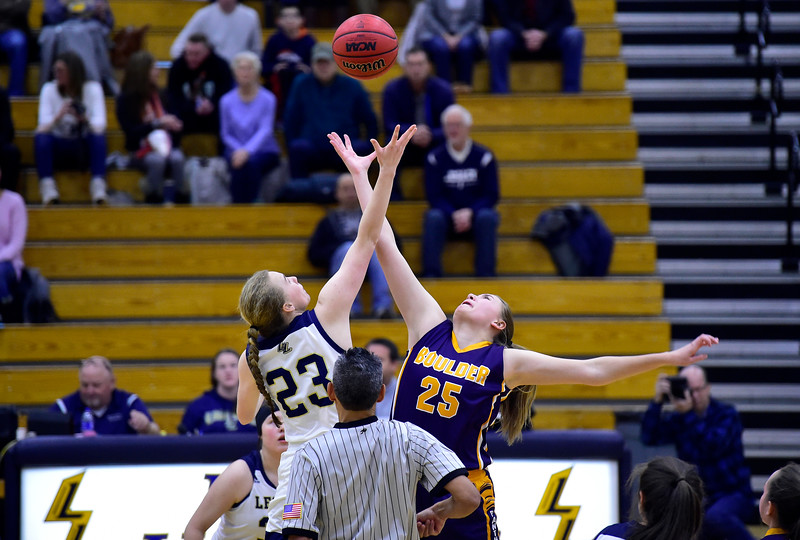 Boulder vs Legacy Girls Hoops