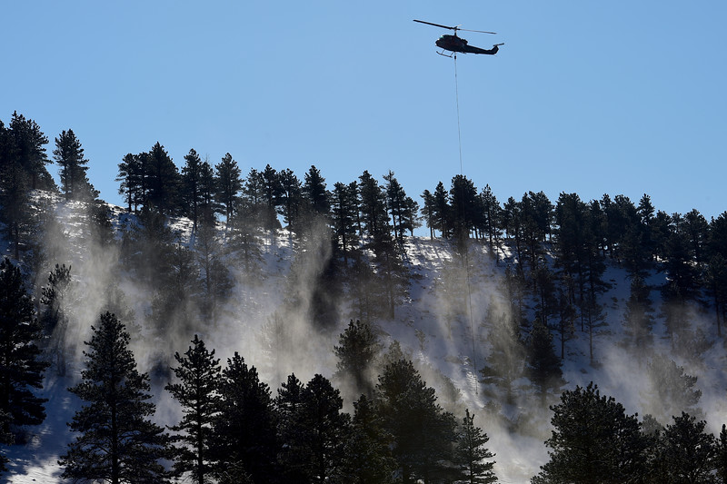 Helicopter Logging at Heil Valley Ranch
