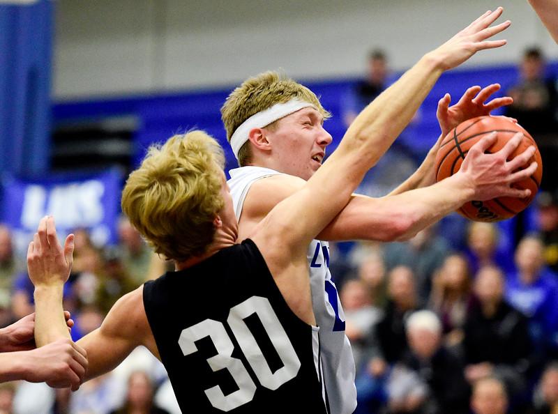 Longmont Vs. Thompson Valley Boys Basketball