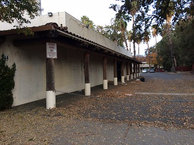 The main entrance to the long-closed The Graduate bar and restaurant off East Eighth Street in Chico is seen in November. (Laura Urseny -- Enterprise-Record)