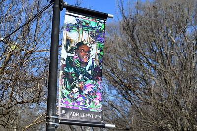 Artist Adelle Patten's piece is located on Main Street - just north of the intersection of Concord Road.
