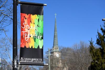 Artist Vivian Burdette's piece is located on Main Street near The Village Store.