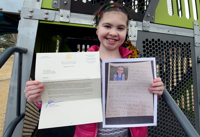 Ally's Act Hearing Letters