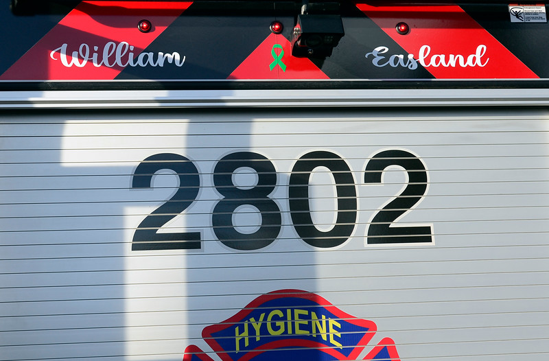 Will Easland Hygiene Fireman with Cancer