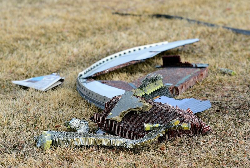 Plane Debris in Broomfield