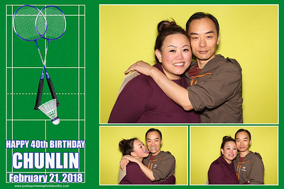 Chunlin's 40th Birthday - Strips