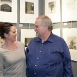 Renee Murphy and Paul Paletti at Paulm Paletti Gallery.