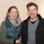 Carrie Burr and Josh Askan at Zephyr Gallery.