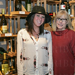 Stephanie Reuss and Taste Fine Wines and Bourbon Owner Sharon Meyer.