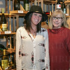 Stephanie Reuss and Taste Fine Wines and Bourbon Owner Sharon Meyer.
