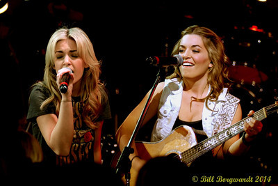 Carly & Britt McKillip - One More Girl - Young Guns at Cook 188