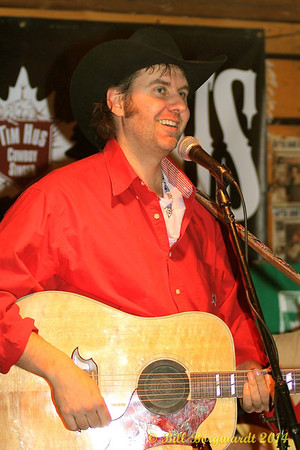 February 7, 2014 - Tim Hus at the Early Stage Saloon in Stony Plain