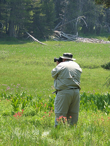 McGurk's Meadow:  Of course Kevin had to take a few pictures.