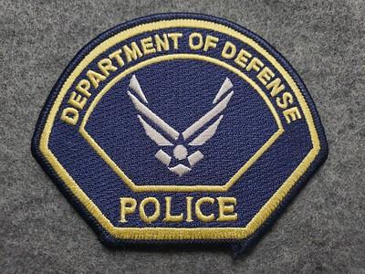 DOD Police AF wings