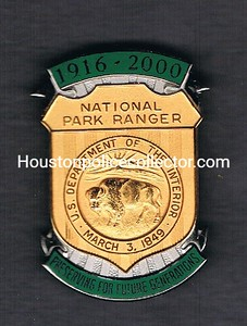 NATIONAL PARK RANGER 1916-2000