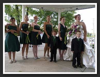 Bridal Party Family Shots at Stayner Gazebo 2009 08-29 009