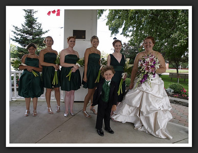 Bridal Party Family Shots at Stayner Gazebo 2009 08-29 018
