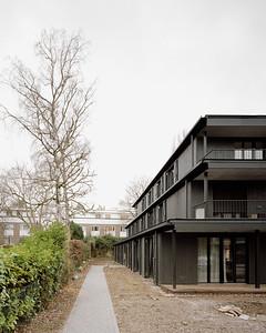 03 Mehrfamilienhaus Gatternweg, Riehen | Zwischenraum Staffelung