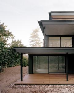 06 Mehrfamilienhaus Gatternweg, Riehen | Detailansicht Balkone Front
