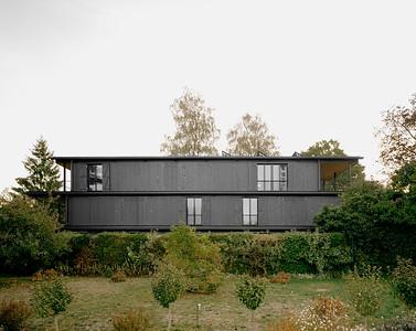 02 Mehrfamilienhaus Gatternweg, Riehen | Ansicht Seite