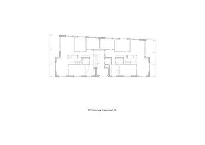 Plan 02 Mehrfamilienhaus Gatternweg, Riehen | Erdgeschoss 1:200