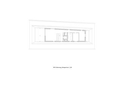 Plan 04 Mehrfamilienhaus Gatternweg, Riehen | Attikageschoss 1:200