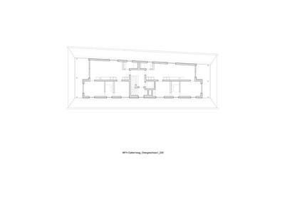 Plan 03 Mehrfamilienhaus Gatternweg, Riehen | Obergeschoss 1:200