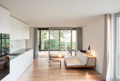11 Mehrfamilienhaus Gatternweg, Riehen | Innenraumansicht Wohnunge 3. OG