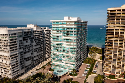 Aerial photo of Palace at Bal Harbour Condominium Building