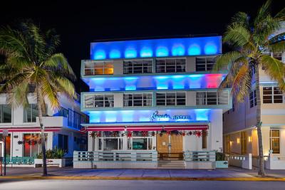 Penguin Hotel MIami Beach closed during Coronavirus Covid 19 pandemic