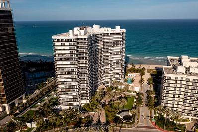 Majestic Towers Condo aerial photo Bal Harbour Miami Beach FL