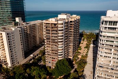 Aerial photo Tiffany of Bal Harbour Condominiums