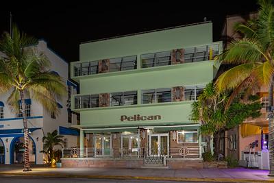 Pelican Hotel Miami Beach Ocean Drive shut down Coronavirus Covid 19 pandemic