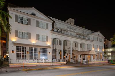 The Betsy Ross Hotel Ocean Drive shut down Coronavirus Covid 19