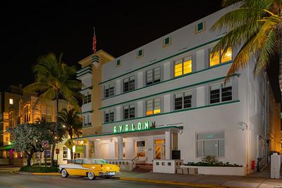 Avalon Hotel Miami Beach Ocean Drive shut down Coronavirus Covid 19
