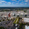 Aerial drone image of Aventura Mall Florida