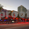 Restaurants and bars on Fort Lauderdale Beach Florida