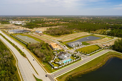Housing development Naples Florida USA