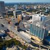 Brightline Miami Central Stateion construction development