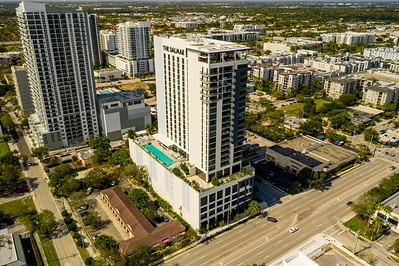 Aerial photo The Dalmar Fort Lauderdale FL