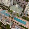 Residential condo pool deck