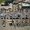 Aerial drone image Broward County Fair